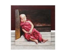 Sleeping monks13214