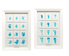 baby foot hand print15714