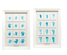baby foot hand print15714