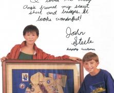 History - Happy Customer - John Steele