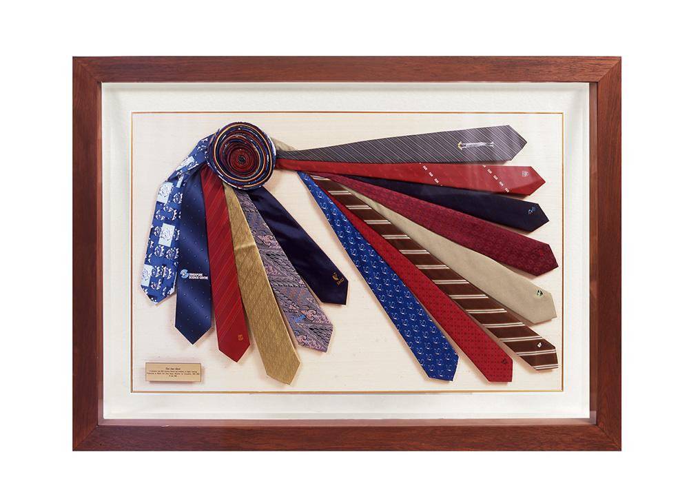 Colorful necktie91112 2