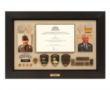 military frame4615