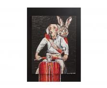 Dog & rabbit101214