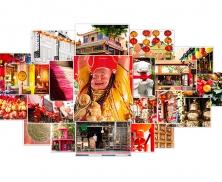 Linda Singapore Collage Photo Frame 515