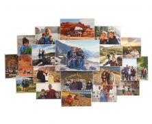 Holiday Collage Photo Frame 616