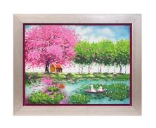 Pink tree27413