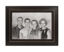 FAMILY CHARCOAL POTRAIT27116