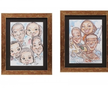 Family caricature21215
